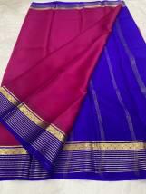 60 gram Pure mysore crepe silk sarees