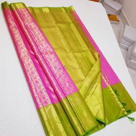 Latest pure kanchipuram bridal sarees