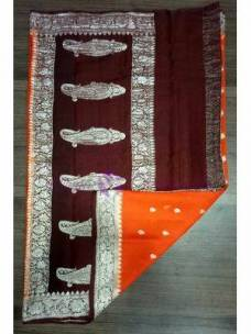 Chiffon benarasi silk sarees