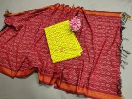 Ikkat sico dress materials