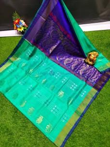 Uppada soft silk sarees with butti