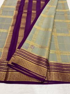 90 counts pure mysore silk sarees