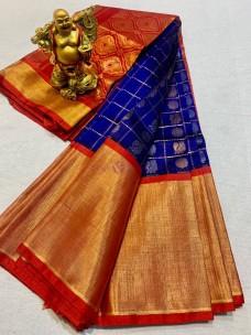 Handloom Kuppadam pattu silk sarees
