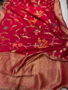 Pure banaras georgette sarees