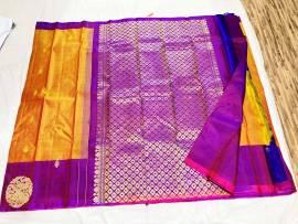 Pure kanchipuram fancy silk sarees
