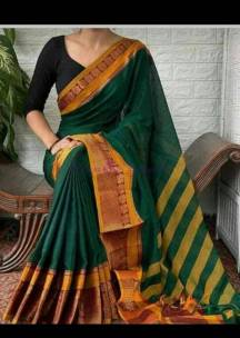 Mercerised narayanpet cotton sarees