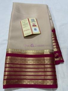 70 gram thickness pure mysore silk sarees
