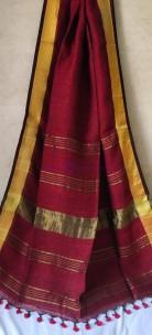 Latest Linen sarees