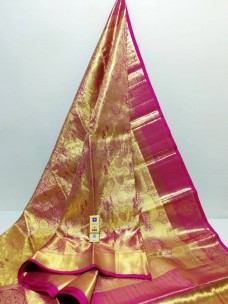 Pure kanchipuram double warp wedding silk sarees