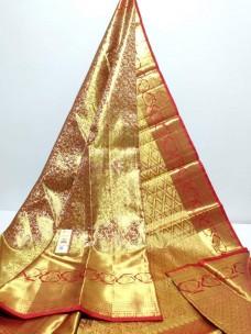 Pure kanchipuram double warp wedding silk sarees