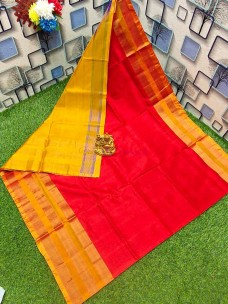Latest Uppada silk big border sarees