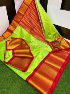 Kuppadam sarees With gold border