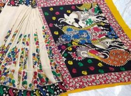 Chennuri silk muti colored sarees