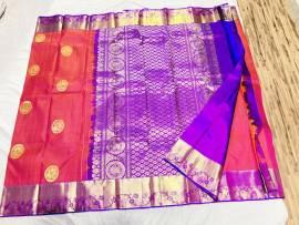 Latest kanchipuram silk sarees