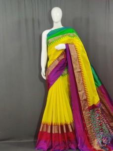 Exclusive ikkat silk sarees