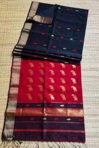 Maheswari handloom sarees with butti work