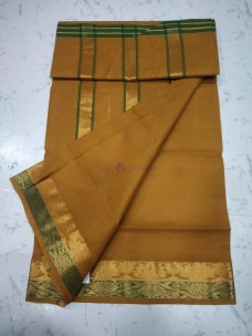 Mangalagiri cotton sarees with one side border