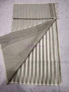 Mangalagiri cotton sarees with striped design