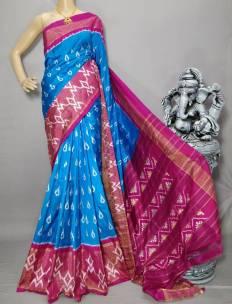 Pochampalli ikat silk sarees