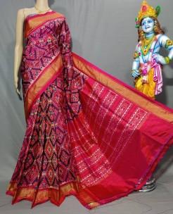 Pochampally Cambodian special ikat silk sarees