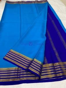 80 counts pure mysore silk crepe sarees