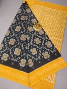 Handloom ikkat mercerised cotton sarees