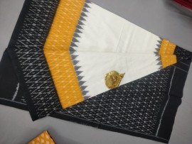 Pure ikkat mercerised cotton sarees