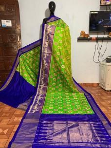 Handloom ikat silk sarees