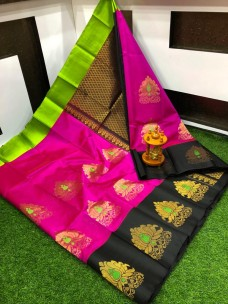 Kuppadam anchulatha all over design sarees