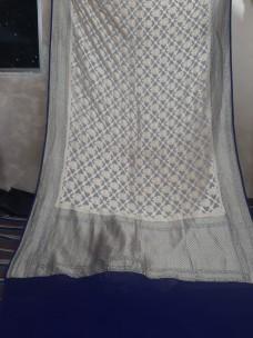 Pure handloom banarasi silk chiffon Georgette sarees