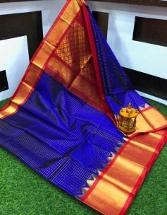 Kuppadam sarees with jil checks