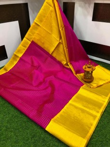 Kuppadam sarees with jil checks