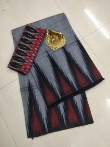 Ikkat cotton sarees