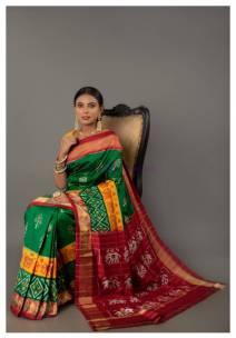 Special pochampally ikkat silk sarees