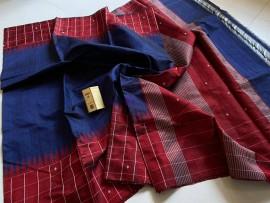 Pure dupion raw silk sarees