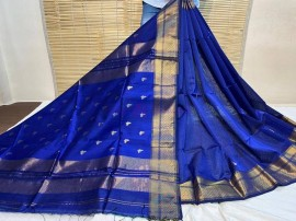 Maheswari silk cotton sarees with butterfly butti