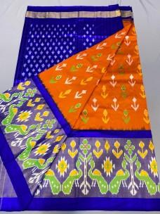 Pochampalli handloom ikat silk sarees