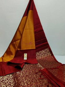 Double warp pure kanchipuram silk sarees