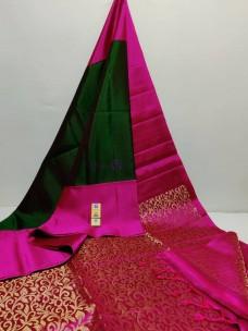 Kanchipuram pure silk double warp sarees