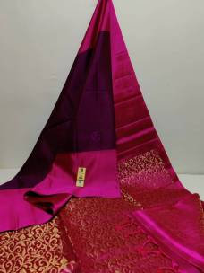 Kanchipuram pure silk double warp sarees