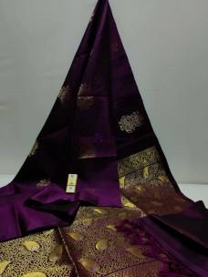 Pure kanchipuram borderless silk sarees