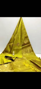 Pure kanchipuram borderless silk sarees