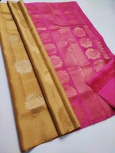 Traditional pure soft silk sarees