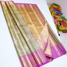 Pure Kanchipuram tissue silk sarees