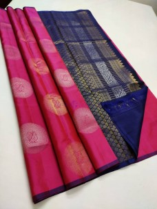 Pure handloom kanchipuram soft silk sarees