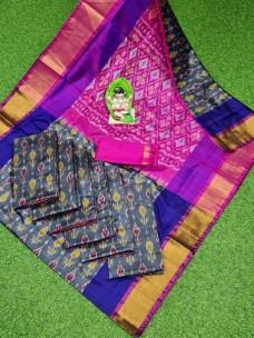 Uppada full pochampally design sarees