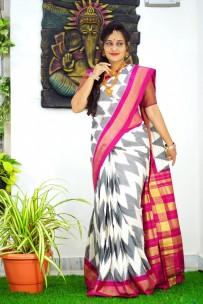 Pochampally ikat silk sarees