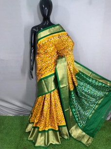 Pochampally double ikat silk sarees