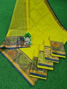 Uppada cotton sarees with pochampally border