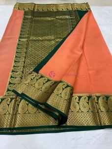 Pure Mysore silk with all over butta